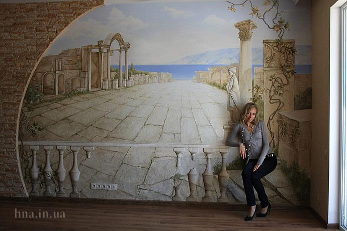 Роспись стен в Балашихе