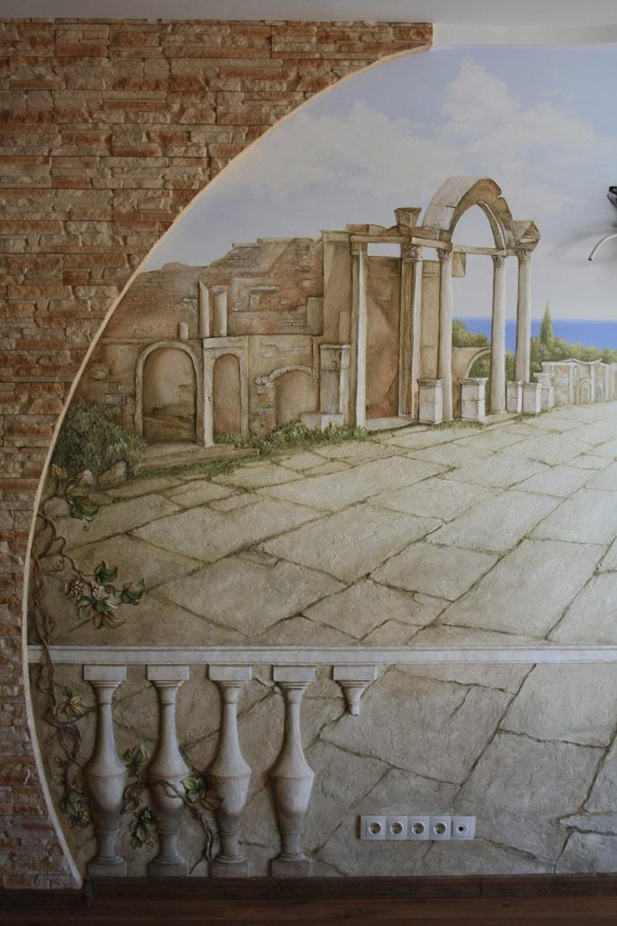 Лепка стен в Балашихе