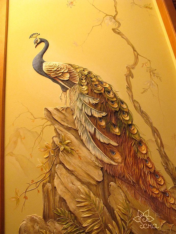 художественная роспись лепка стен